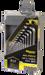 Wheeler 45 Pc Hex And Torx Set, Wheelr 1081959 Sae/metric/hex/torx Key Set 45 Pc