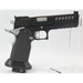 Master Piece Arms DS9 Hybrid Black & Stainless - 9mm Wide Body Double Stack 2011 Race Pistol