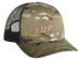 Leupold Wordmark, Leu 180418 Wordmark Trucker Hat Multicam