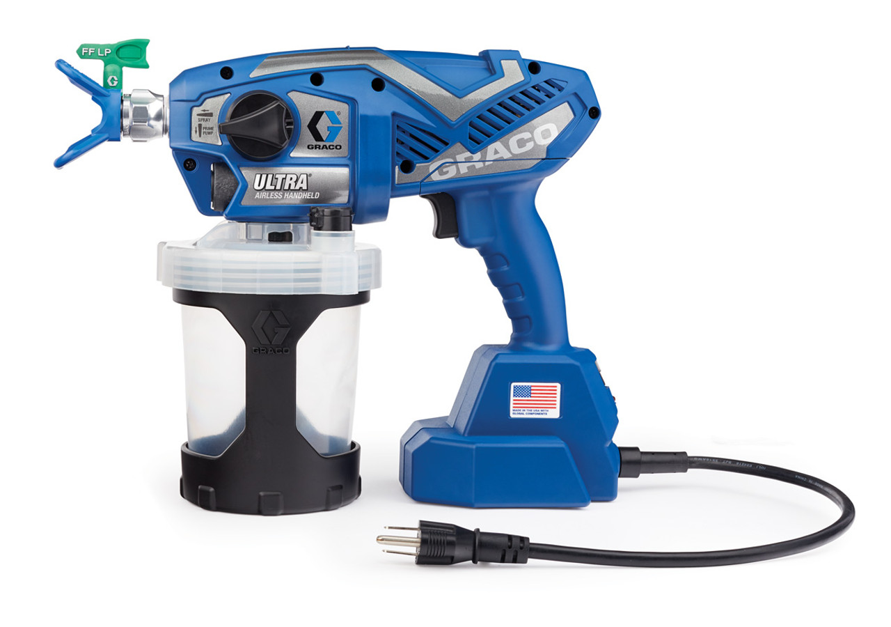 4d79fa8dbdef2 Graco Ultra Corded Airless Handheld Paint Sprayer 17M359