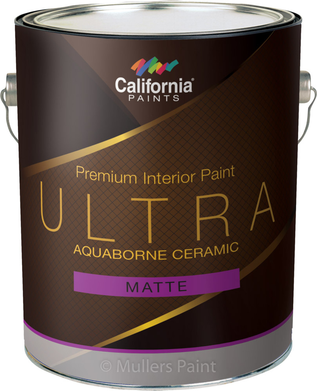 California Paints Ultra AquaBorne Ceramic Matte Paint