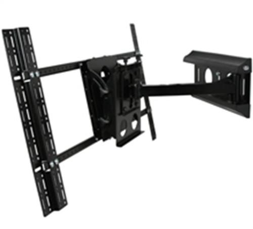 B-Tech BT8413 Heavy Duty Single Arm Flat Screen Wall Mount   with Tilt and Swivel