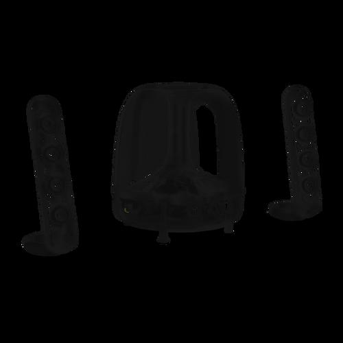Harman kardon SoundSticks wireless. Three piece wirless speaker system w/bluetooth connectivity.
