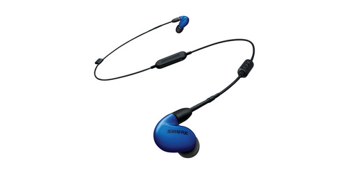Shure SE846-BLU+BT1 Wireless Sound Isolating Earphones with Bluetooth Enabled Communication Cable