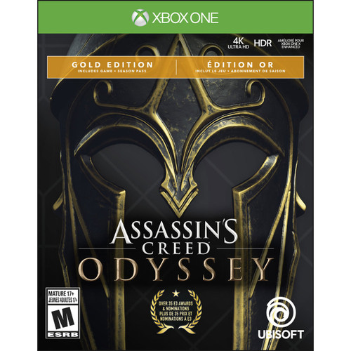 Assassin's Creed Odyssey Gold Edition - XBOX One BRAND NEW
