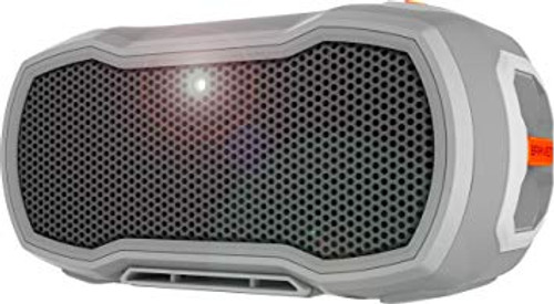 Braven ReadyPRO Outdoor Waterproof Speaker.  Gray/Gray/Orange