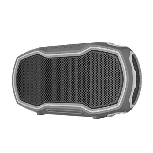 Braven Ready Prime Outdoor Waterproof Speaker. GRAY/GRAY/ORANGE