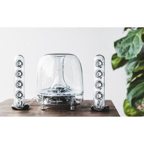 Harman Kardon SoundSticks 4.  Bluetooth Speaker System.