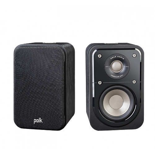 Polk Audio S10 (PAIR) HiFi Home Theater Compact Satellite Surround Speaker