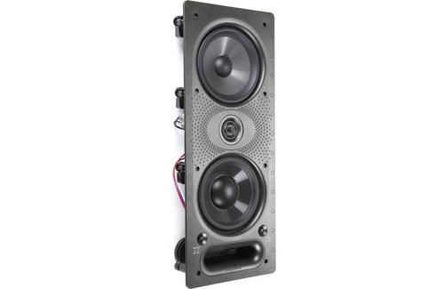 """Polk Audio 265-LS Vanishing In-Wall Loudspeaker with Dual 6.5"""" Drivers (Single)"""