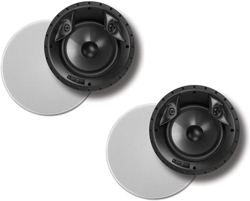 """Polk Audio 80F/X-LS High Performance in-Ceiling Surround Loudspeaker with Dual Tweeters and 8"""" Driver (Single)"""