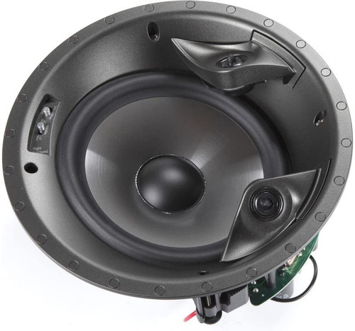 "Polk Audio 80F/X-LS High Performance in-Ceiling Surround Loudspeaker with Dual Tweeters and 8"" Driver (Single)"