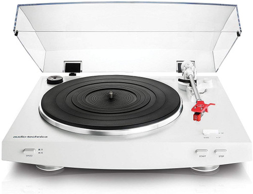 Audio Technica AT-LP3 Black or White Fully Automatic Belt-Drive Stereo Turntable