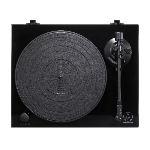 Audio Technica AT-LPW50PB Fully Manual Belt-Drive Turntable
