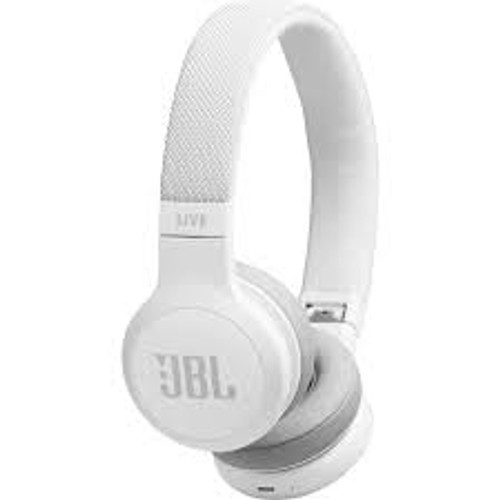 JBL LIVE 400BT. Wireless On-Ear Headphones. White.