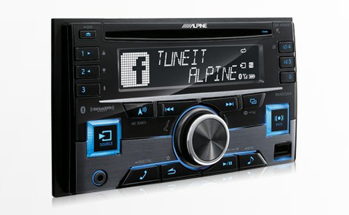 Alpine CDE-W265BT - Free Shipping. Advanced Bluetooth CD Receiver -