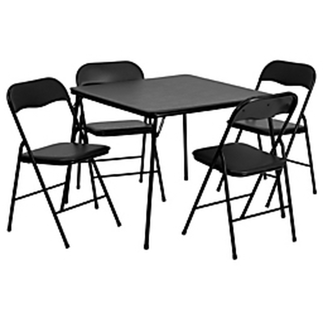 - JB-1-GG - Flash Furniture - Folding Table & Chair Set - Square