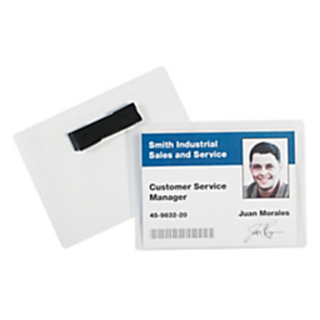 BH20   Office Depot®   Badges   Magnetic Badge Holders 20