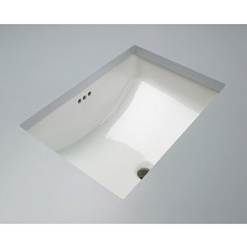 """PROFLO® - Lavatory Sink - 18 x 12"""" Vitreous China Undermount Lavatory Sink in Biscuit"""