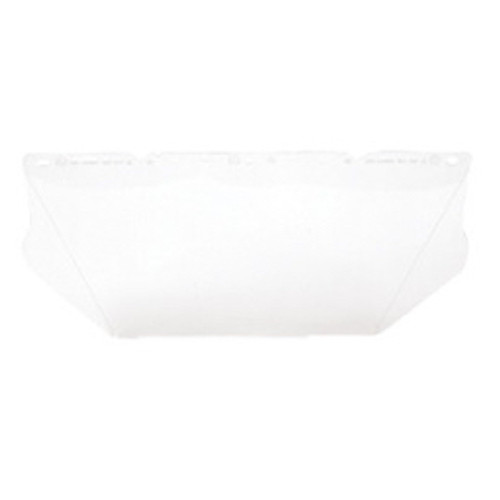 "MSA® - Face Shield - V-Gard® Model 8"" x 17"" x .06"" Clear Polycarbonate Faceshield - CA of 2"