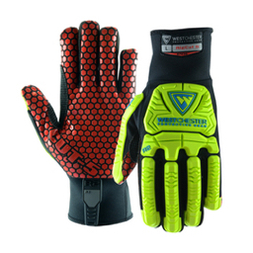 PIP® - Gloves - R2 RigCat™ Armortex® Cut-Resistant Glove with Silicone Coated Palm Medium