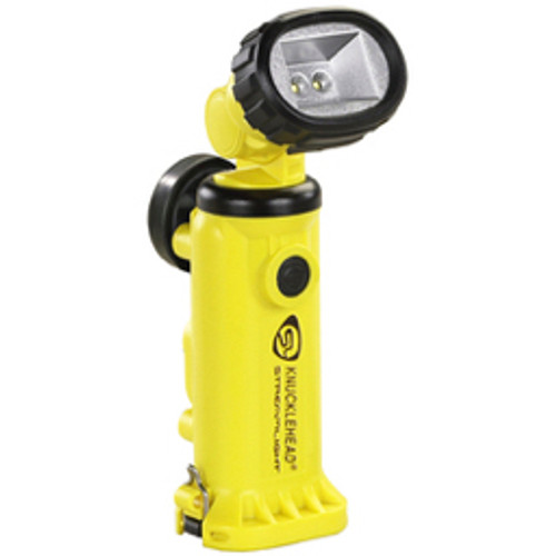 Streamlight® - Flashlight - Streamlight Yellow Knucklehead Rechargeable Work Light with Charger-Holder and 120V AC-DC Cords (4 4.8 Volt Nickel-Cadmium Sub-C Batteries Included)