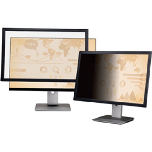 "3M™ - Privacy Filter - Framed 24"" Widescreen Lcd Display"