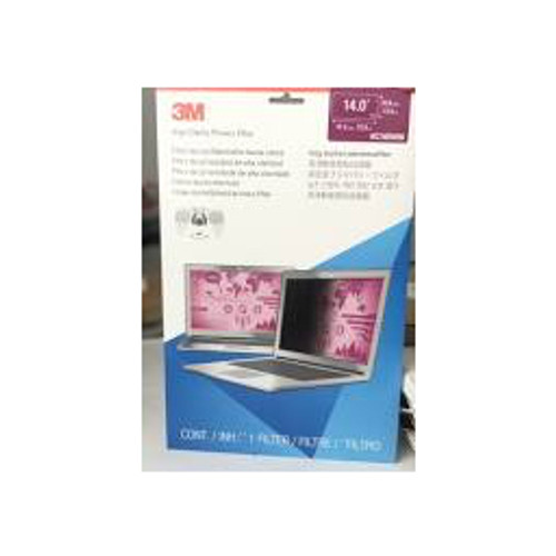 """3M™ - Privacy Filter - High Clarity Privacy Filter 14"""" Widescreen Laptop"""