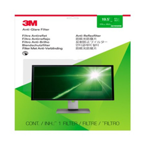 "3M™ - Privacy Filter - 19.5"" Anti-Glare Filter for Desktop Monitors"