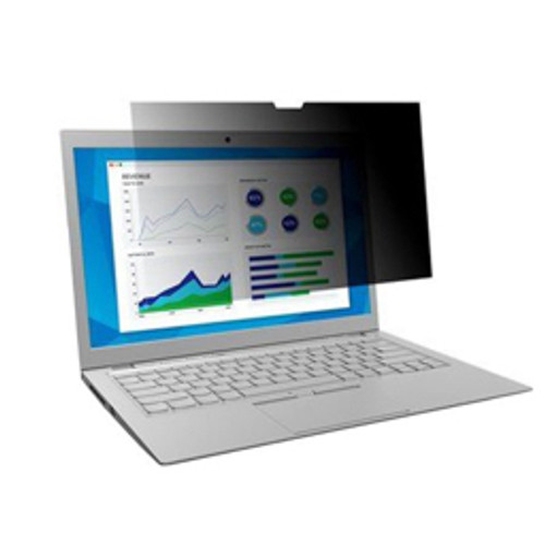 """3M™ - Privacy Filter - 13.3"""" Widescreen 16-9 Unframed Laptop and Lcd"""