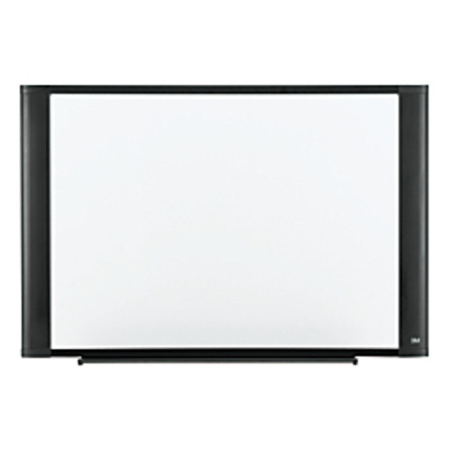 """3M™ - Dry Erase Board - Melamine with Widescreen - Style Aluminum Frame, Graphite Finish, 36"""" x 48"""""""