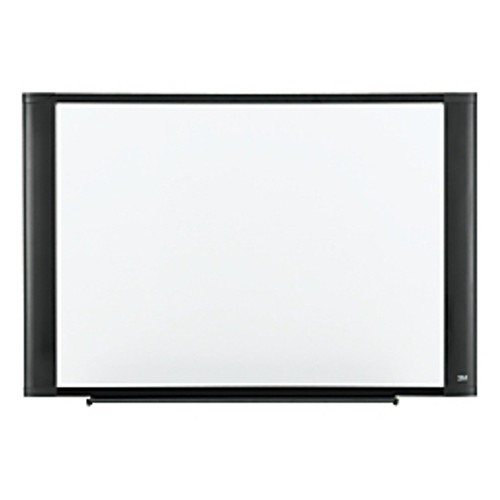 """3M™ - Dry Erase Board - Melamine with Widescreen-Style Aluminum Frame, Graphite Finish, 24"""" x 36"""""""