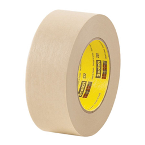 "3M™ - Tape - 232 Masking Tape 1-2""X60YD, 72CA - CA of 72"