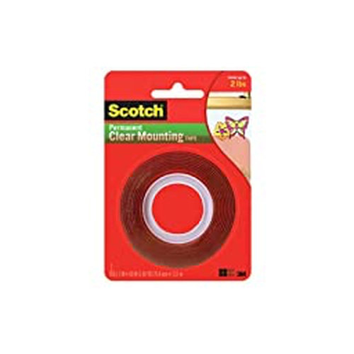 "3M™ - Mount Tape - Scotch® Permanent Double-Sided 1"" x 60"" Tape"