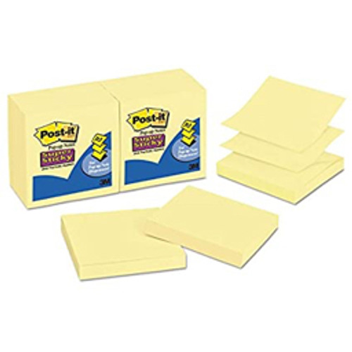 3M™ - Note Pad - Post-It® Super Sticky Pop-Up Notes - 6-Pk