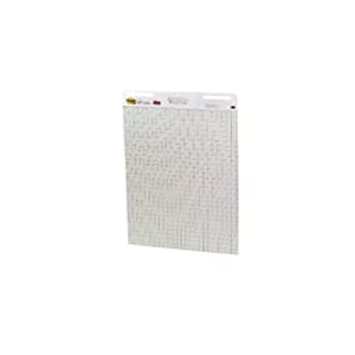 3M™ - Easel - Post-It® Super Sticky 25 x 30-Inches, White with Grid, 30-Sheets-Pad Easel Pad