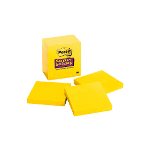 3M™ - Note Pad - Post-It® Super Sticky Notes - 5-Pk - CA of 3 PK  654-5SSY