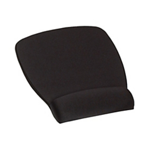 3M™ - Wrist rests - Antimicrobial Foam Mouse Pad - 3/4 in. D x 6-3/4 in. W - Black