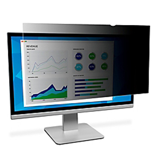3M™ - Privacy Filter - Frameless Privacy Filter for 23.8in. Monitors - Black