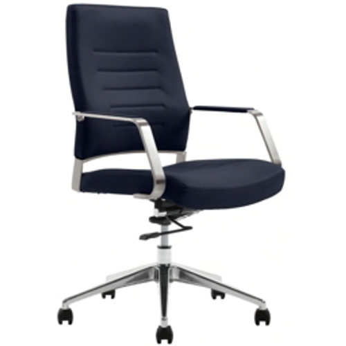 Serta® - Chair - Styleworks Milan Mid-Back Chair Sapphire