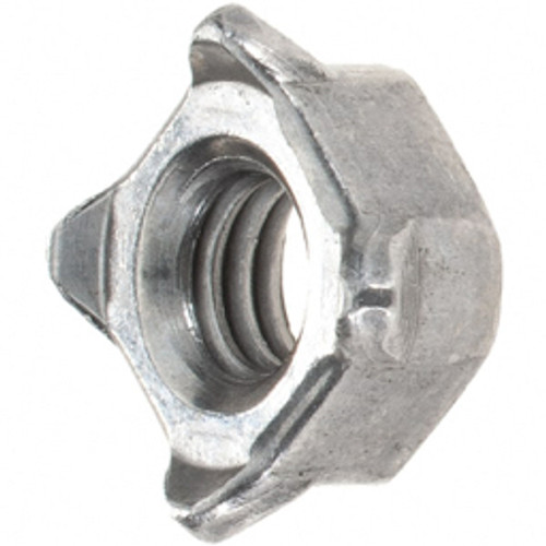 Value Collection - Weld Nuts 6mm Weld Square Nut