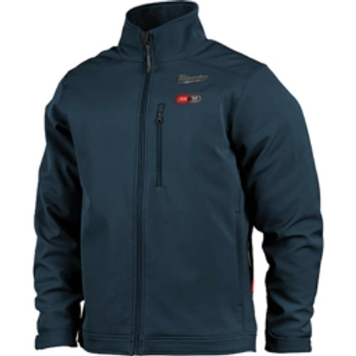 Milwaukee Tool - Jackets & Coats, Garment Style- Jacket, Garment Type- Heated, Size- Large, Color- Navy Blue, Material- Polyester, Hazardous Protection Level- Ul Certified