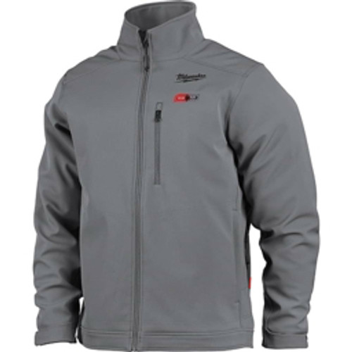 Milwaukee Tool - Jackets & Coats, Garment Style- Jacket, Garment Type- Heated, Size- Large, Color- Gray, Material- Polyester, Hazardous Protection Level- Ul Certified