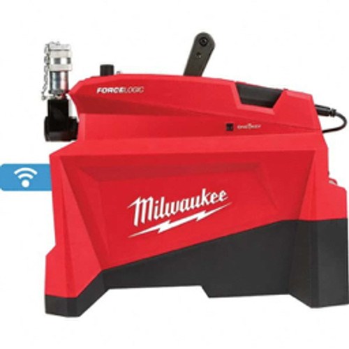 Milwaukee Tool - Power Hydraulic Pumps & Jacks, Type- Hydraulic, Pressure Rating - PSI- 10000, Oil Capacity- 98 Cu. in., Used with Cylinder - S- Single Acting, Cylinder Operating Function- Advance, Hold and Retract, Reservoir Capacity - Cu. in.- 98 -