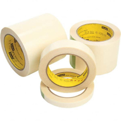 3M™ - Film Tape - 18 yds x 1/4in. Transparent Uhmw Film Tape 5 Mil, Rubber Adhesive - 6.8in. x 6.8in. x 10.8in. - PK of 36
