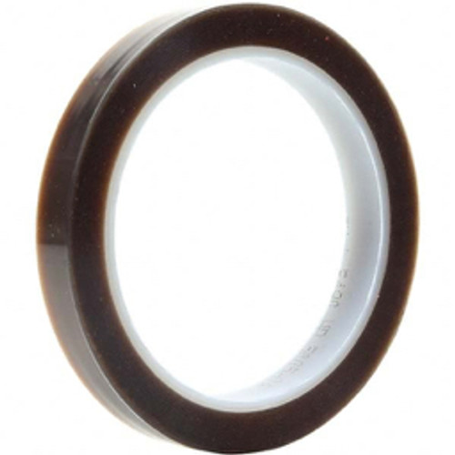 3M™ - 72 yds x 14in. Brown PTFE Film Tape 2 Mil, Silicone Adhesive - 19.4in. x 6.4in. x 6.8in.
