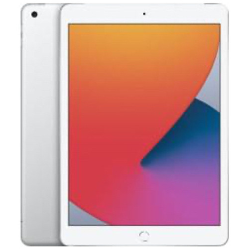 Apple - Tablet computers - Ipad - 8th Generation Tablet - 10.2in. - 128 GB Storage - Ipados 14 - 4g - Silver - Apple A12 Bionic Soc - 2160 x 1620 - 1.2 Megapixel Front Camera - 9 Hour Maximum Battery Run Time