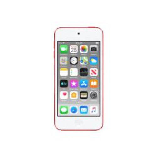 Apple - Headphones - iPod Touch 7g 128 GB Red Flash Portable Media Player - 4in. 727040 Pixel Color Lcd - Touchscreen - Bluetooth
