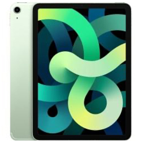 Apple - Tablet computers - Ipad Air - 4th Generation Tablet - 10.9in. - 256 GB Storage - Ipados 14 - 4g - Green - Apple A14 Bionic Soc - 7 Megapixel Front Camera - 9 Hour Maximum Battery Run Time