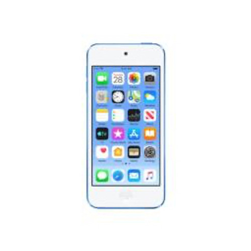 Apple - Headphones - iPod Touch 7g 128 GB Blue Flash Portable Media Player - 4in. 727040 Pixel Color Lcd - Touchscreen - Bluetooth